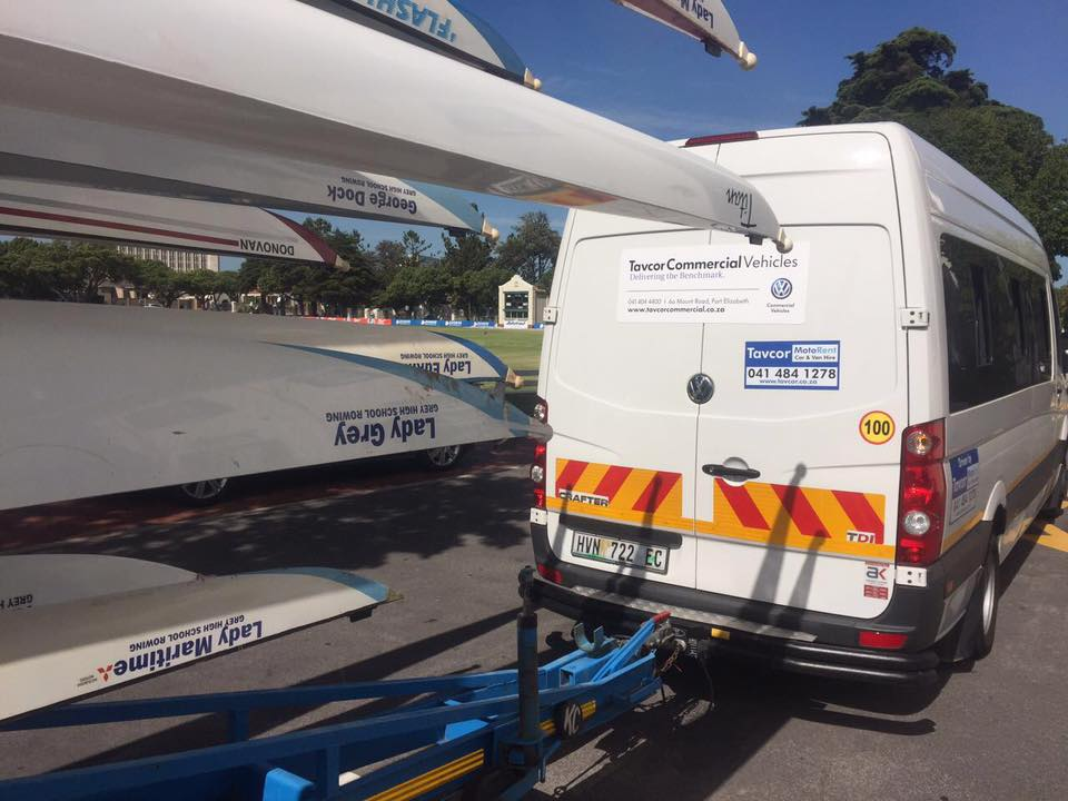 Moving The Grey Rowing Team Tavcor Commercial Vehicles